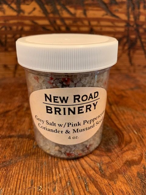 Brittany Grey Salt with Pink Peppercorns, Coriander & Mustard Seed