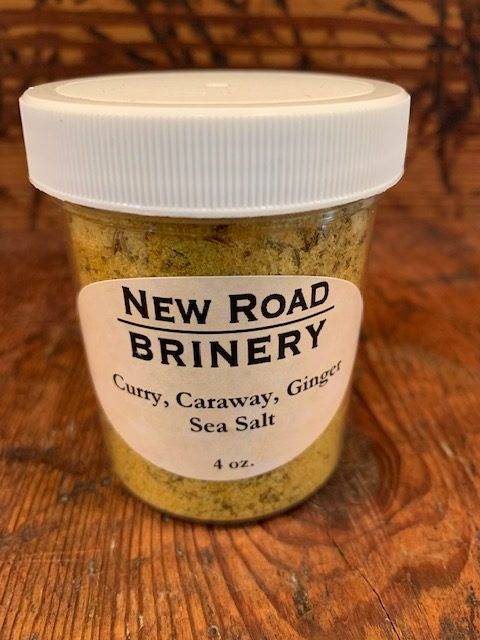 Curry, Caraway, Ginger Sea Salt