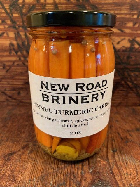Fennel Turmeric Carrots