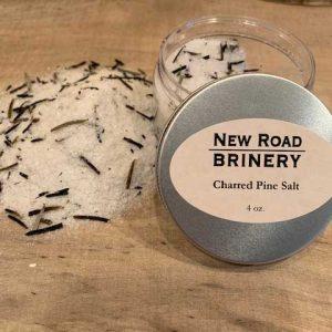 Charred Pine Salt