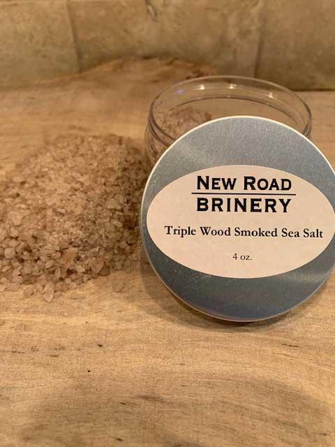 Triple Wood Smoked Sea Salt